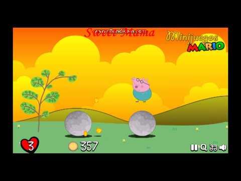 Мультик ИГРА для детей - Папа Свин собирает монетки.Свинка Пеппа. Pig Peppa.