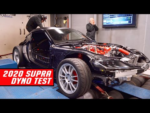 Listen to This BMW-Powered 1000-HP Toyota Supra on the Dyno