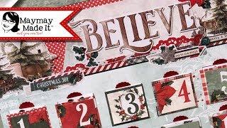 DIY Advent Calendar with Bible…