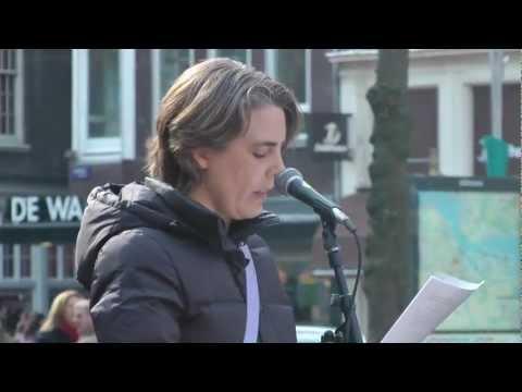 Kambiz Roustayi Memorial / Herdenking - Beursplein, Amsterdam, 2013 | Video: Persian Dutch Network