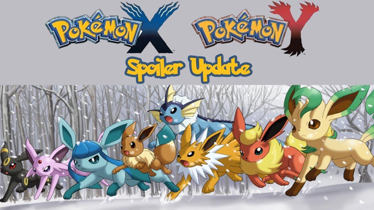 Spoiler pokemon x y update october 5th 2013 third - Pokemon x pokemon rare ...