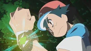 Ash Vs Hau \ Rowlet Vs Dartrix - Pokemon Sun and Moon Episode 97「AMV」