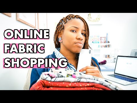 HOW TO BUY FABRIC ONLINE: Top Tips For ONLINE FABRIC SHOPPING During Social Distancing