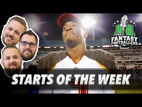 Fantasy Football 2017 - Starts of the Week, Week 2 Matchups, Players to Watch - Ep. #436
