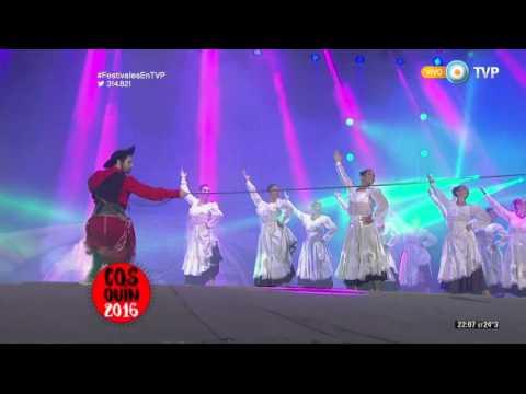Ballet Folklórico Nacional en el Festival de Cosquín 2016