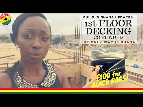 *23* Build In Ghana: 1st Floor Decking continued