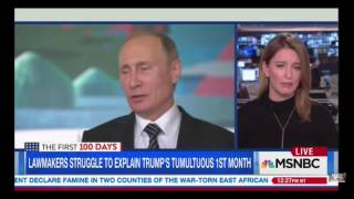 MSNBC's Katy Tur Acts Like She Doesn't Know About Obama Promising Putin 'Flexibility'