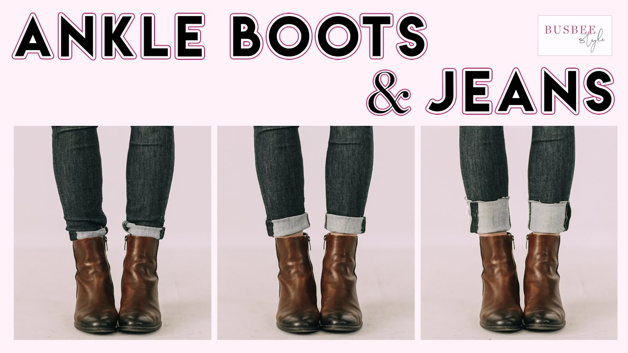 To Wear Ankle Boots With Skinny Jeans