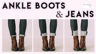 How To Wear Ankle Boots With S…
