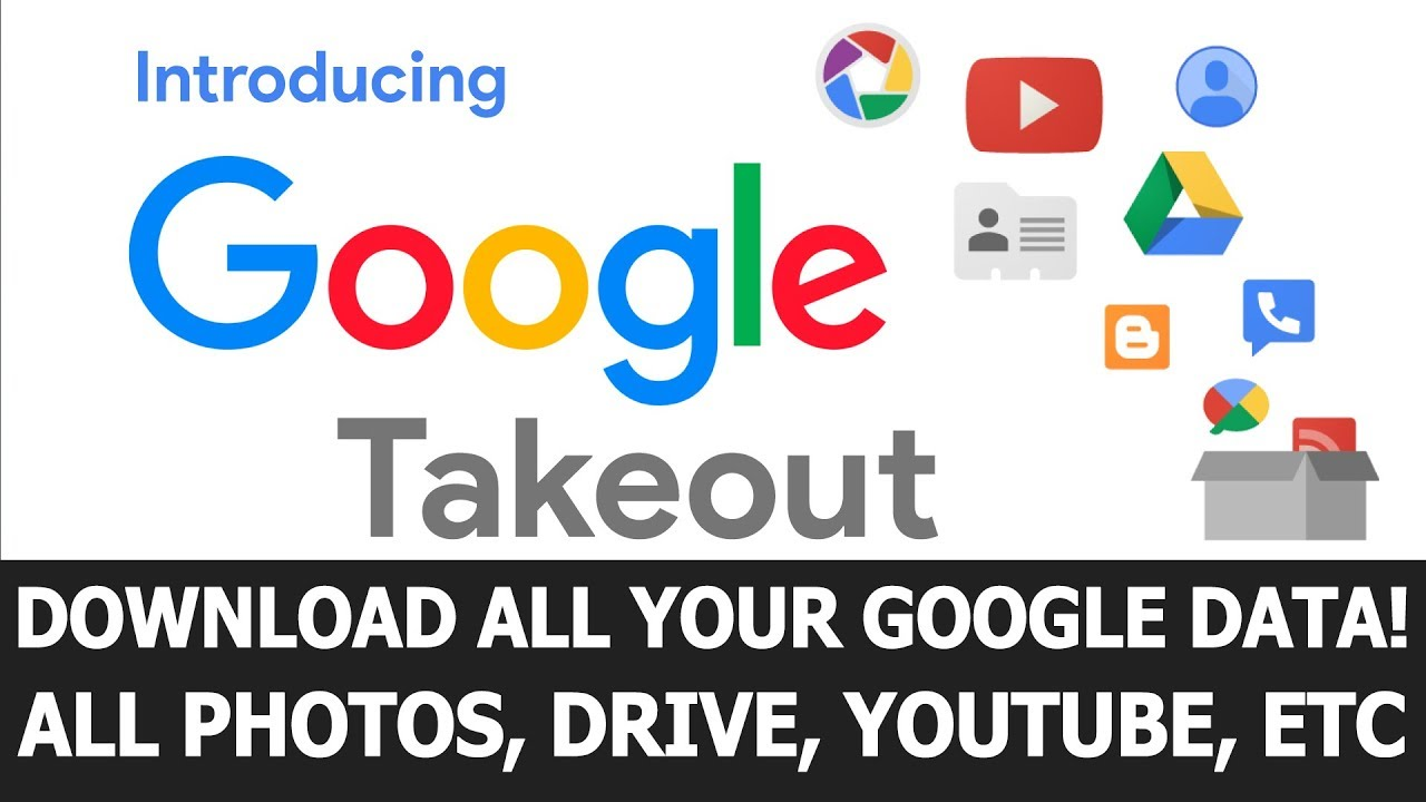 Download What is Google Takeout? Download all Your Google Data!