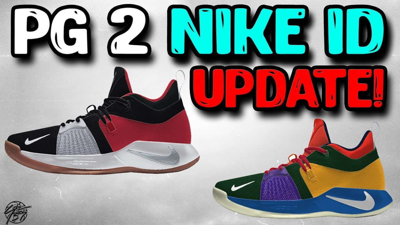 0b6dd8a44b3c Nike Updated the PG 2 NIKEID Design! - YouTube