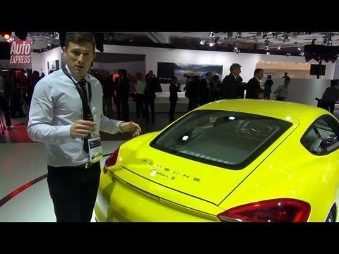 New Porsche Cayman at the 2012 LA Motor Show - Auto Express