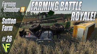 Farming Battle Royale! | Start From Scratch: Sutton Farm #26 | Farming Simulator 19