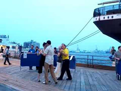 New York Tango .. South Street Sea Port ,