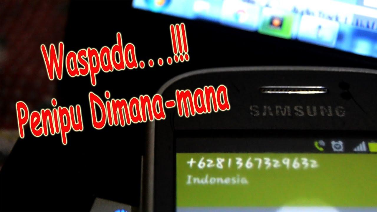 Lucu Penipuan Lewat Telpon Marah Marah Youtube