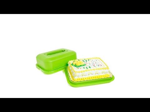 Debbie Meyer GreenBoxes Rectangular Cake Saver Plus