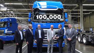 100,000th New DAF CF and XF - DAF Trucks