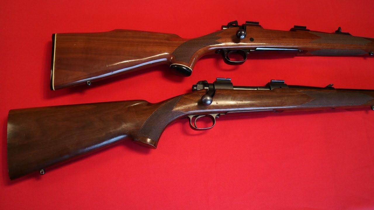 Winchester Pre 64 Model 70 vs  Post 64 Model 70