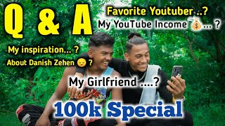 100K Special Q&A - My YouTube Earning 💰 ? My Girlfriend ? Anish Fitness