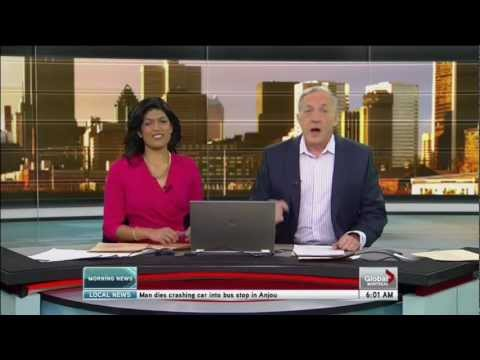 First four minutes of Global Montreal Morning News