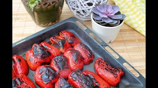Roasted Peppers - You Can Find Out How To Prepare Roasted Peppers - Tomato Salad