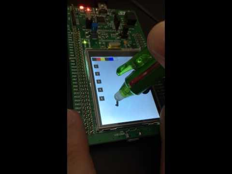 STM32F429 + 7 0' TFT 800x480   DMA2D   LTDC Hardware         Doovi