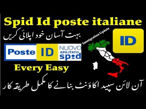 Spid id poste italiane