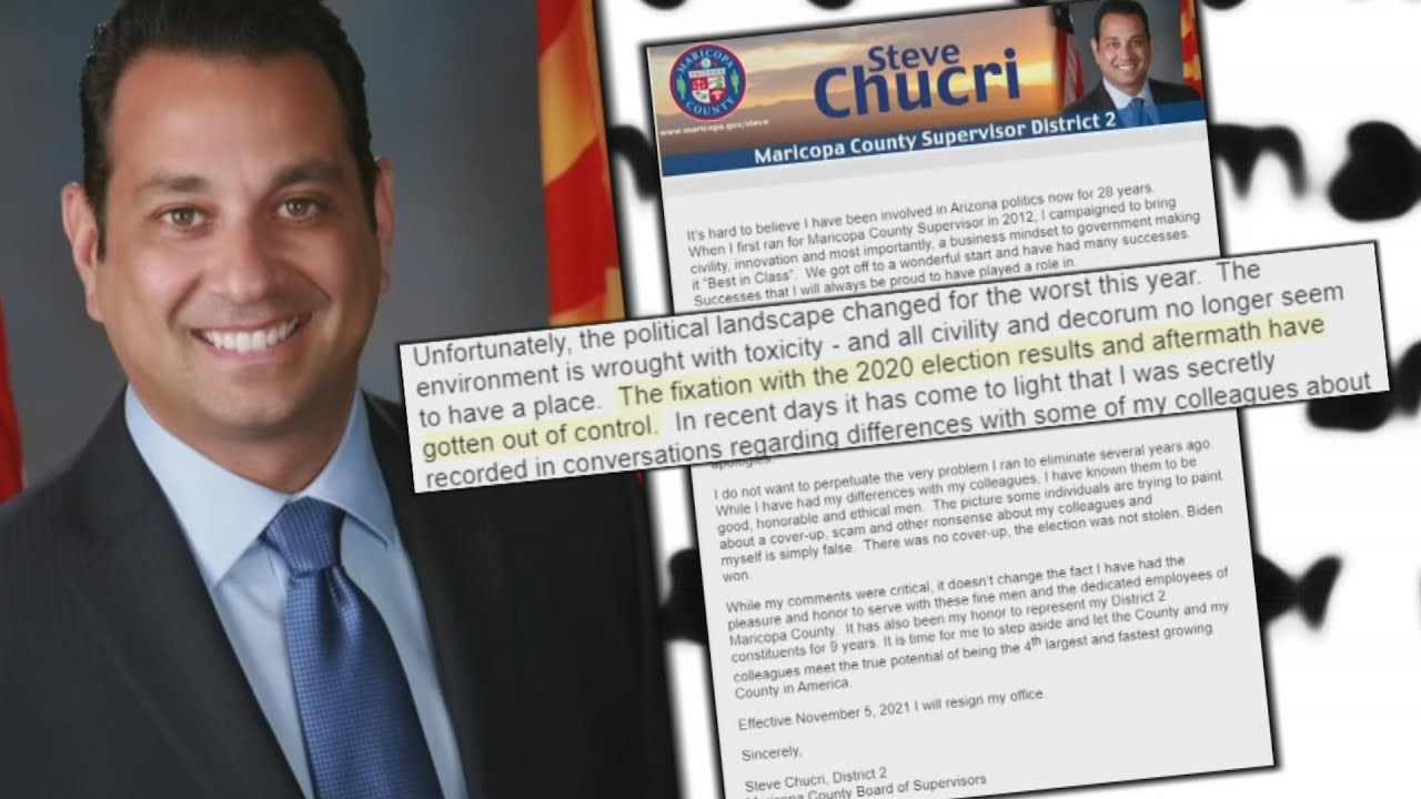 Download Maricopa County official resigns after recording released