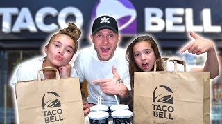 WE ORDER THE ENTIRE MENU 🌮TACO BELL!!