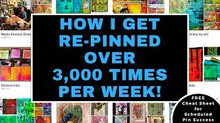 How I Get Repinned Over 3 000 Times Every Week