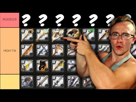 I Ranked Every Weapon in Albion Online | SOLO PvE