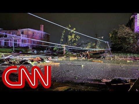 Kevin & Liz - Major tornado Damage in Jeff City