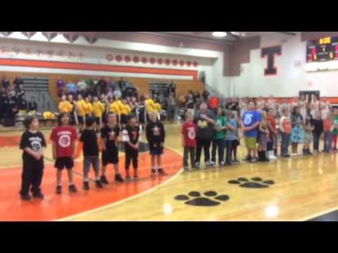 Oceanlake Elementary School second graders song