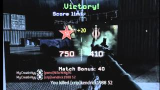 CoD4 Across map grenade GWK