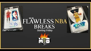 Flawless Saturday Sports Card Breaks w/ MOJOBREAK