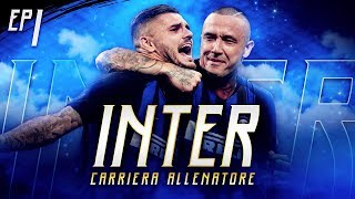 SI COMINCIA!! INTER IS HERE!! CARRIERA ALLENATORE INTER EP.1 FIFA19