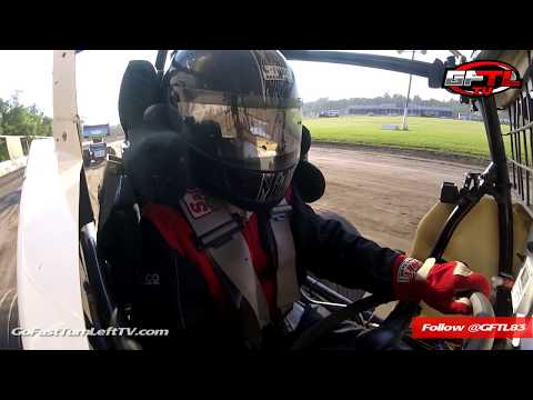 Dustin Purdy @ Fonda Speedway - CRSA Sprints Hot Laps - 6/30/18