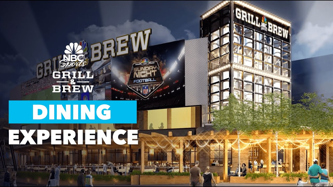 Universal S Nbc Sports Grill And Brew May Open Today At
