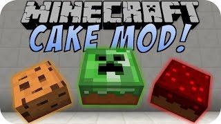 Minecraft CAKE MOD (TNT Cake, Brownie) [Deutsch]