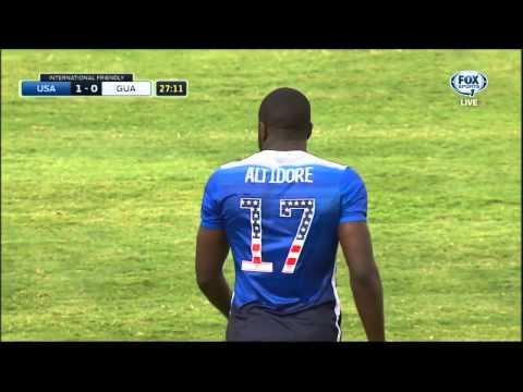 USMNT Guatemala 2015 Friendly First Half Full Game USA FOX SPORTS