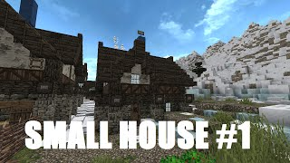 Minecraft: Frozen Island - Small House #1