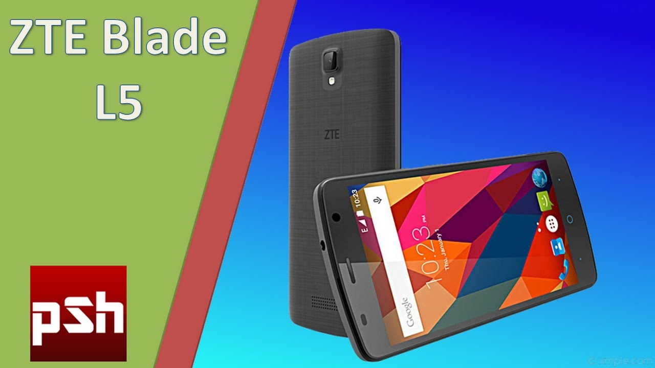 ZTE Blade L5 unboxing and review  YouTube