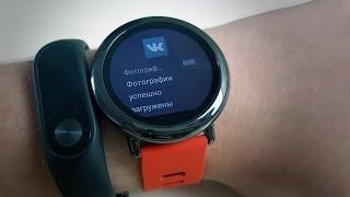 Xiaomi Huami AmazFit умные часы от сяоми! ЧТО ТЫ ТАКОЕ? Или купил ниссан - е@ись с ним сам?(, 2016-09-07T14:30:01.000Z)