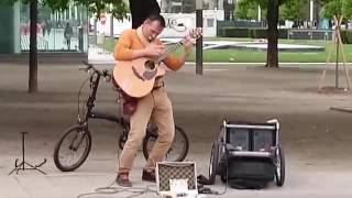 Incredible street cover of Stairway to Heaven ( Valter Tessaris alis Acoustic Spirit )