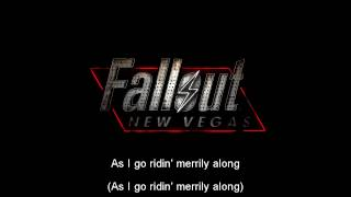 Fallout New Vegas Soundtrack- Jingle Jangle Jinge (by Kay Kyser) On screen Lyrics!