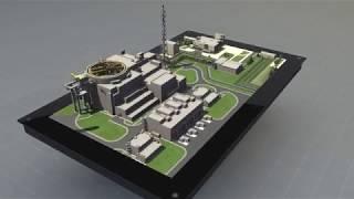 Голографический стол NettleBox. Проект: Ленинградская АЭС