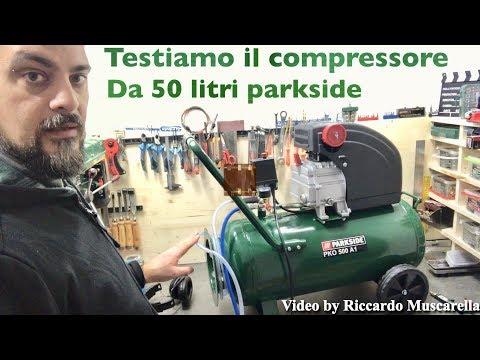 COMPRESSORE lidl da 50 L. PARKSIDE. PKO 500 A1. Recensione dettagliata. Aria compressa per utensili