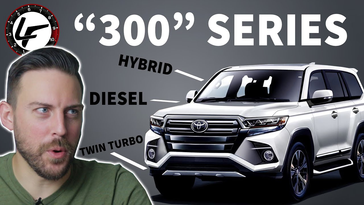 """4 Toyota Land Cruiser """"4"""" - NEW diesel and twin turbo hybrid"""