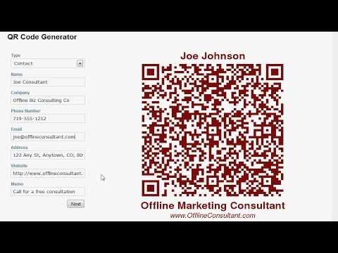 QR Lead Machine - Embed QR Code Generator On Your Website