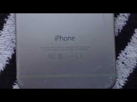 Apple iPhone 6 ATT AT&T 16GB CRACKED LOCKED SILVER GREY CLEAN IMEI